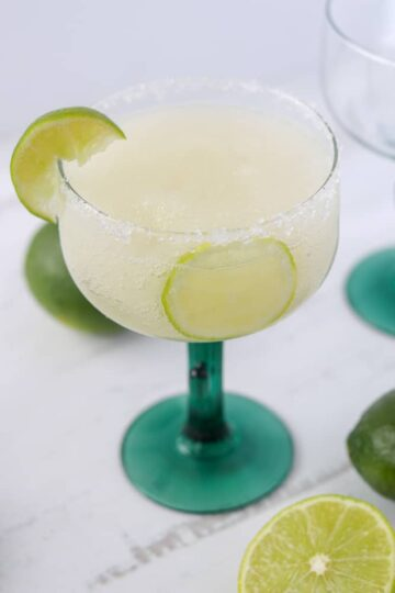 keto margarita recipe photo for a blended margarita