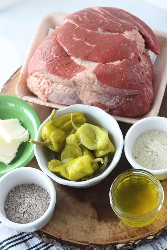 mississippi pot roast crock pot ingredients