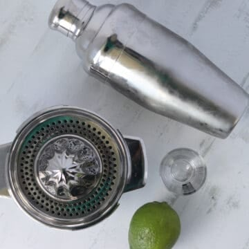 tools for a keto margarita drink