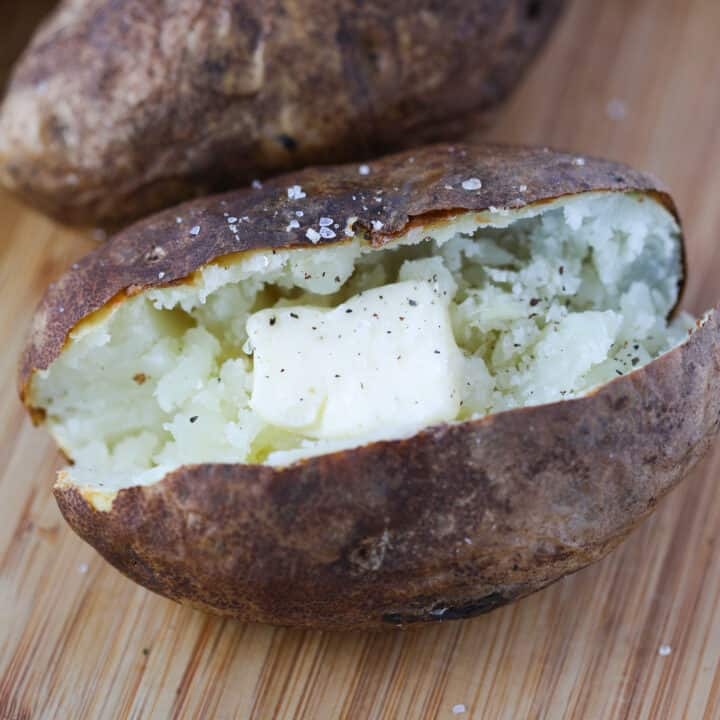 air fry baked potatoes