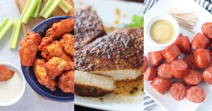air fryer cooking times of meat images