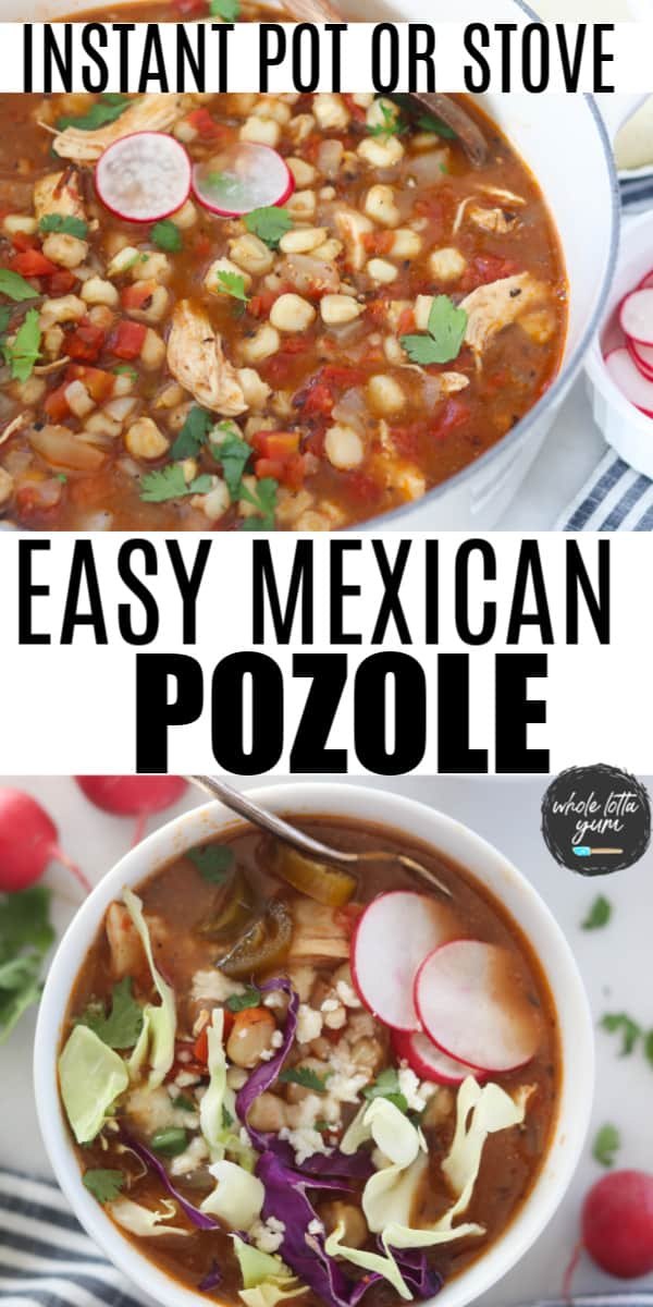 healthy pozole recipe pinterest