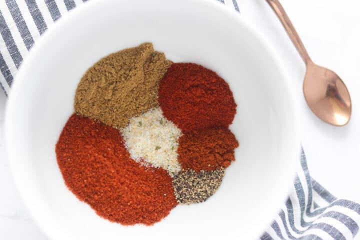 keto taco seasoning recipe in a bowl