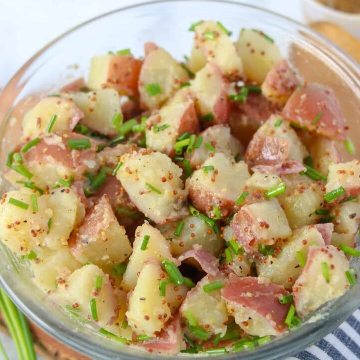 German Mustard Potato Salad Recipe