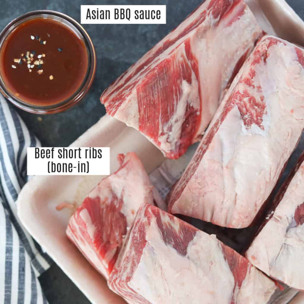 instant pot beef short ribs recipe ingredients