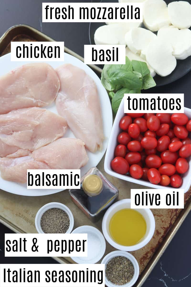 caprese chicken bake recipe