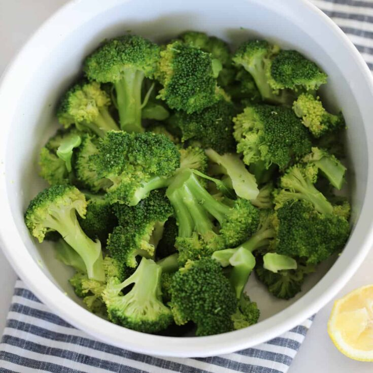 How To Steam Broccoli In The Microwave Whole Lotta Yum