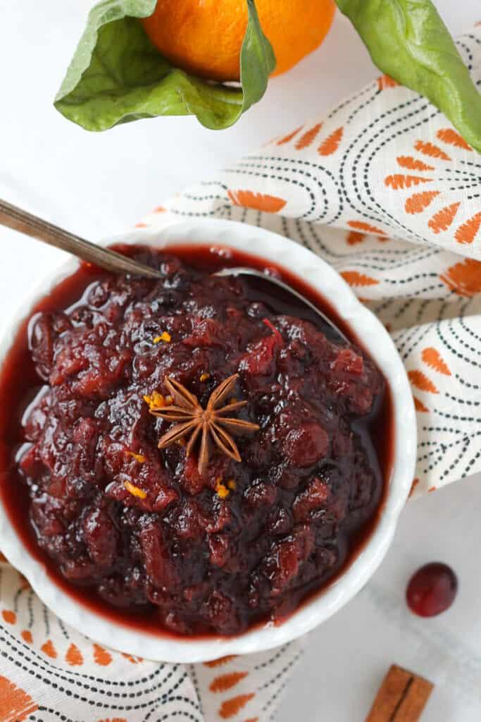 crockpot cranberry sauce recipe with orange