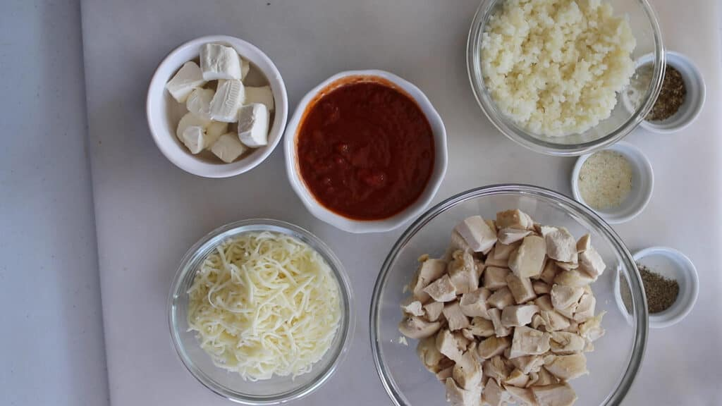 what's in a chicken parmesan casserole photo