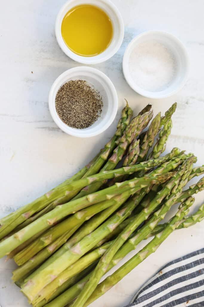 air fried asparagus ingredients