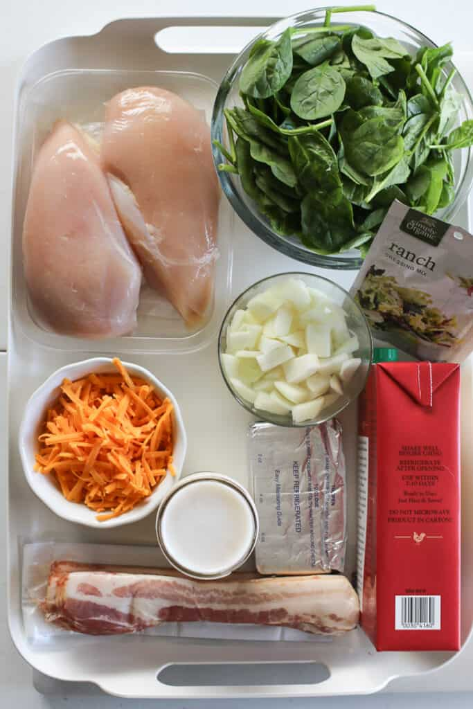 crack chicken soup recipe ingredients