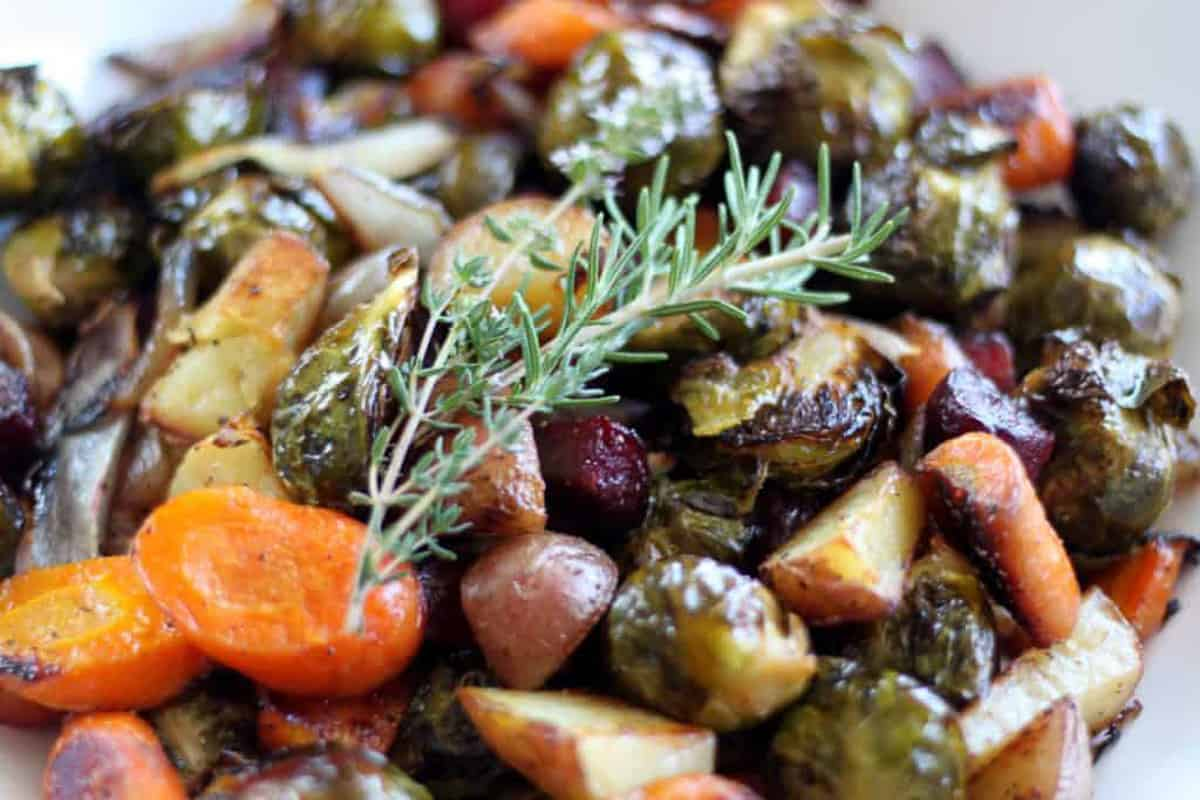 if you're looking for fall vegetable recipes try this autumn vegetable medley