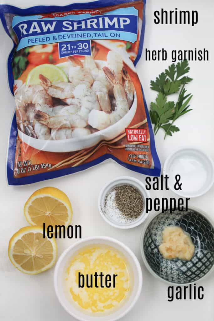raw frozen shrimp air fryer ingredients
