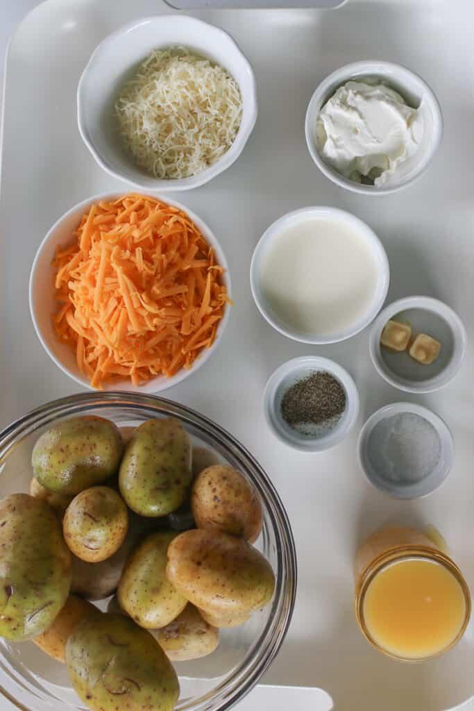 instant pot scalloped potatoes ingredients