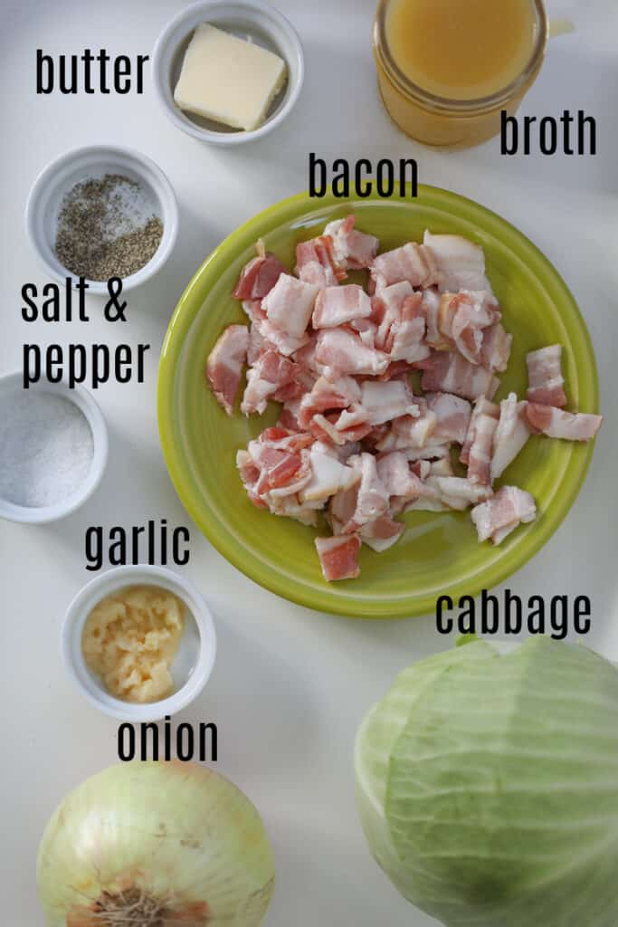 the slow cook cabbage ingredients