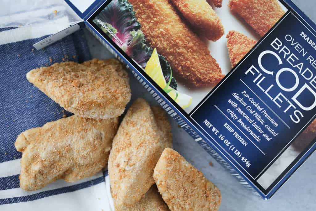 you need a box of frozen fish fillets in air fryer recipe like cod