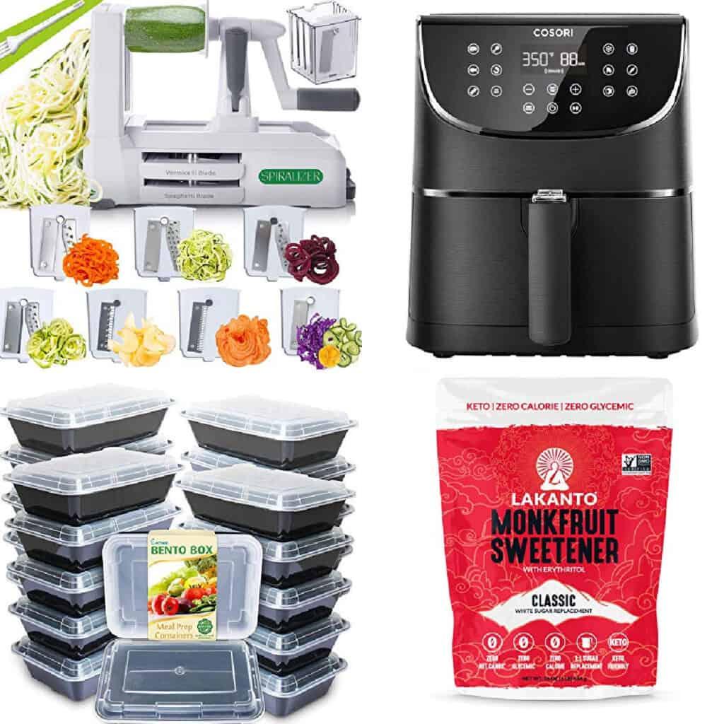 keto kitchen or keto pantry items to buy