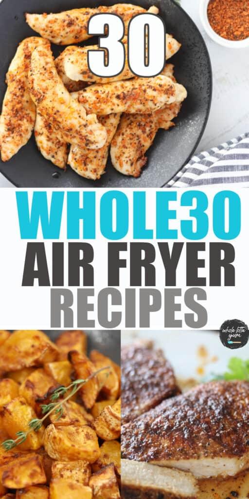 whole 30 air fryer recipes pinterest pin