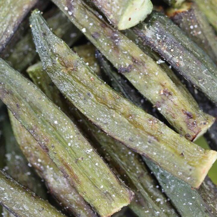 air fryer frozen okra after cooking