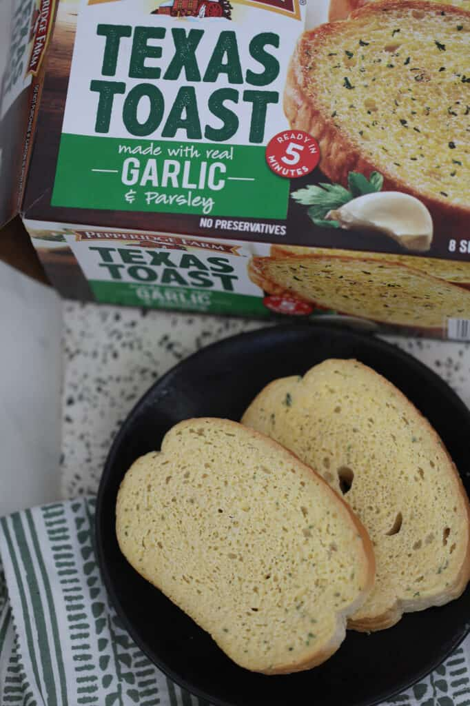 for the texas toast air fryer recipe we used the garlic & parsley flavored