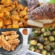 whole 30 air fryer recipes collage of ideas