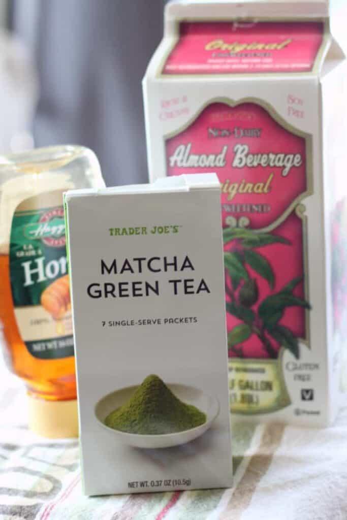 ice matcha green tea latte starbucks recipe ingredients
