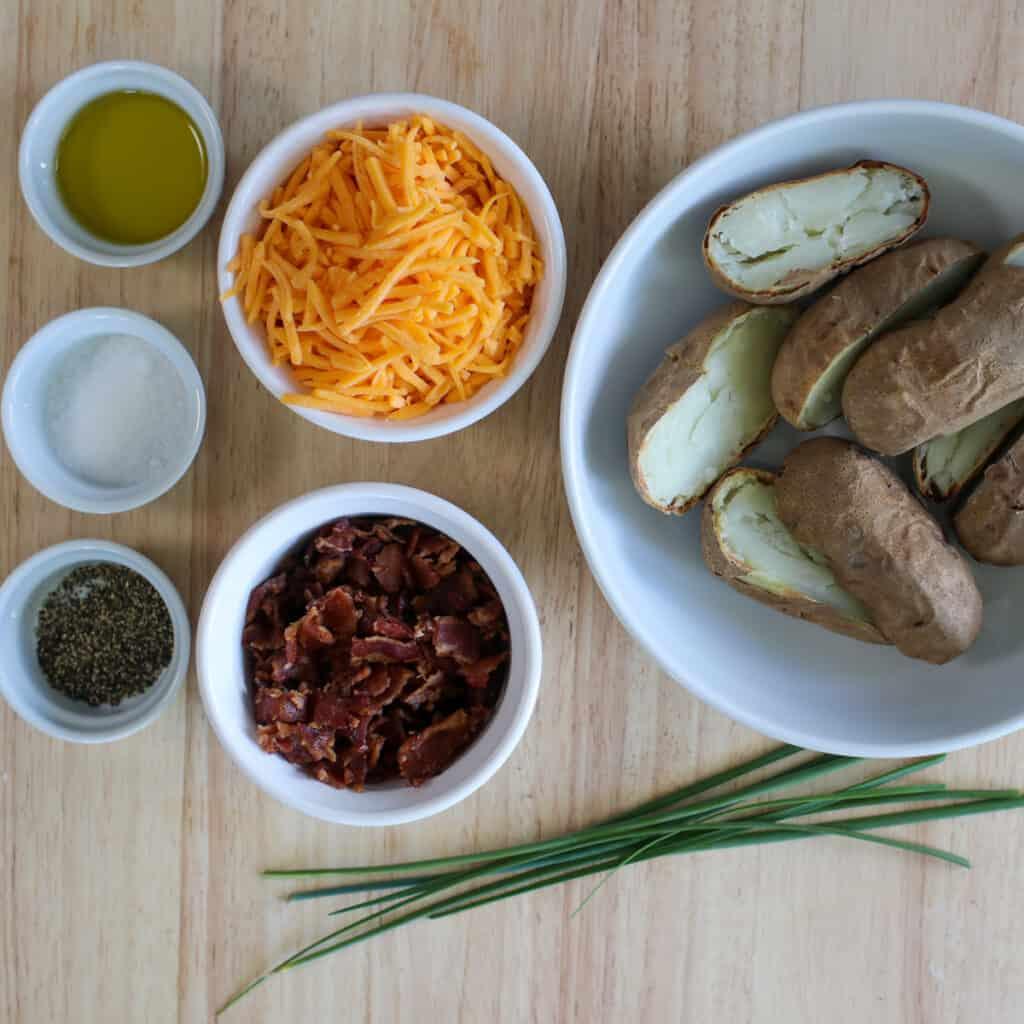 air fry potato skins ingredients
