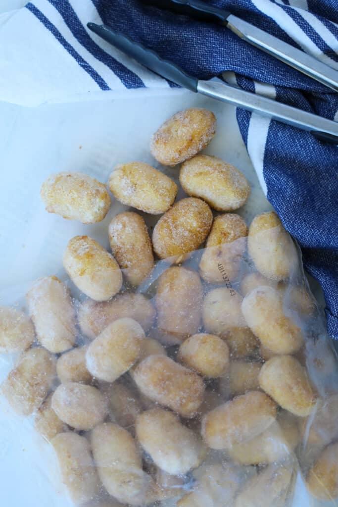 foster farms air fryer mini frozen corn dogs in a bag