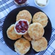 frozen biscuits air fryer recipe with jam