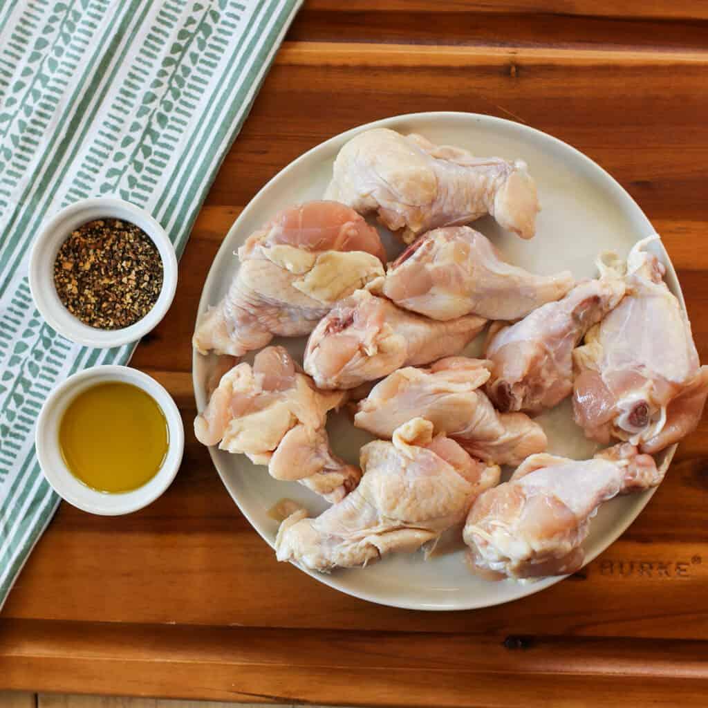 lemon pepper wings air fryer ingredients