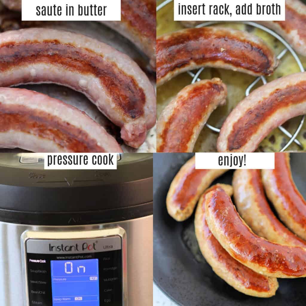 instant pot sausage recipes steps