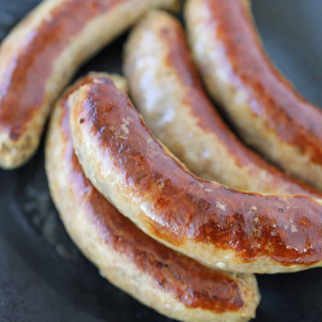 sweet italian sausage in instant pot browned in oil