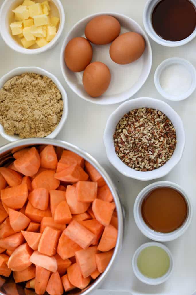sweet potato casserole in instant pot ingredients